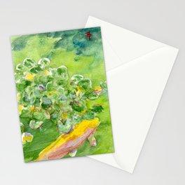 Small Koi Pond 11 Stationery Cards