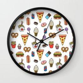 Junkie Wall Clock