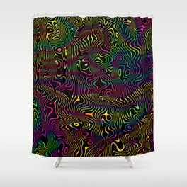 Etnic Zombie Shower Curtain