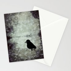 crow-109 Stationery Cards