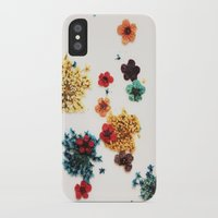 martell iPhone & iPod Cases featuring Little Flowers by G Martell
