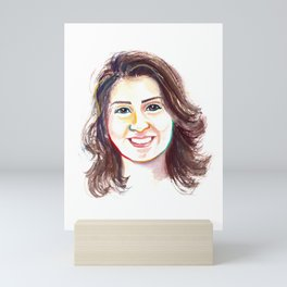 Loujain Al-Hathloul Mini Art Print