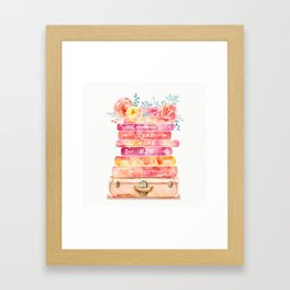 Read More Big Books Framed Art Print