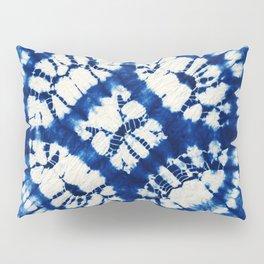 South Seas Samoa Shibori Tie Dye Pillow Sham
