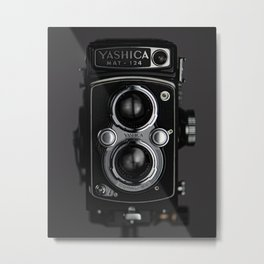 120mm Film Camera Metal Print