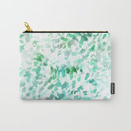 Petal Soft Green Carry-All Pouch