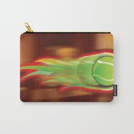 Tennis Ball on Fire Carry-All Pouch