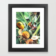 FERTILE CRESCENT Framed Art Print
