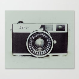 Film Camera Love: Canon Canvas Print