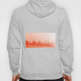 City Abstract Background Hoody