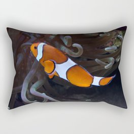 Sea Word Clownfish Rectangular Pillow