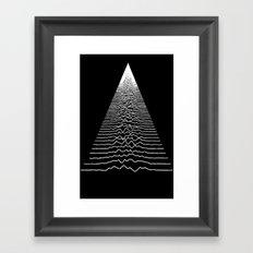 Wave Form Framed Art Print