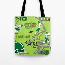 I Love Football! Sports, Football, Game Day Tote Bag