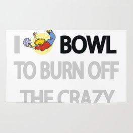 I bowl to burn off cr Rug