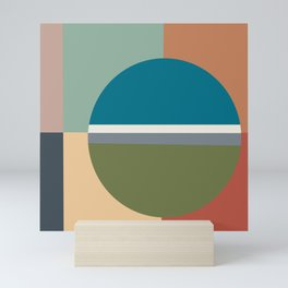 Modern Color Sampler Abstract Art  Mini Art Print
