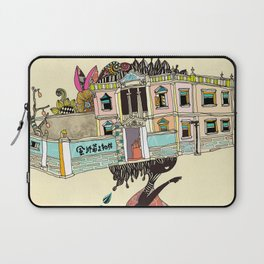 THE GIRL'S HAT Laptop Sleeve