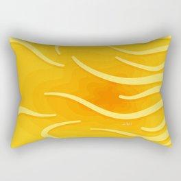 Under The Surface No. 2 Rectangular Pillow