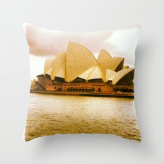 Take me to the Opera Throw Pillow