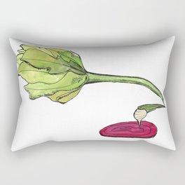 turnip the beet Rectangular Pillow