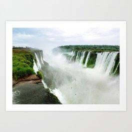 Devil's Throat at Iguazu Falls Fine Art Print Art Print