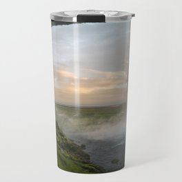 Seljalandsfoss Dawn Travel Mug