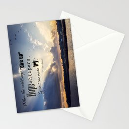 Hope Inspiration Stationery Cards