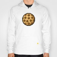 cookie Hoodies featuring Cookie by HOVERFLYdesign