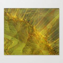 Burning Seams 1 Canvas Print