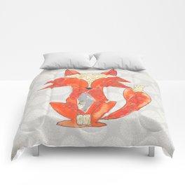 Zen Fox Revised Comforters