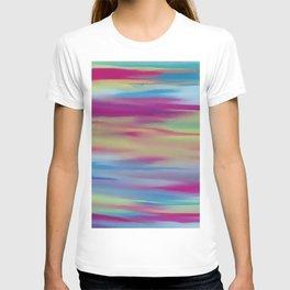 Abstract intense mixed T-shirt