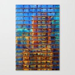 Buildings in Buildings Canvas Print