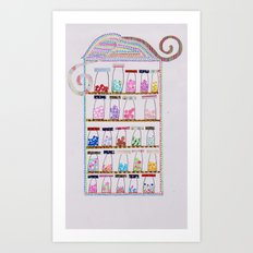 yummy sweeeties  Art Print