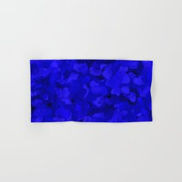 Rich Cobalt Blue Abstract Hand & Bath Towel