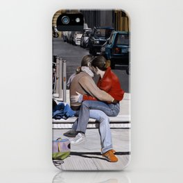 Lovers in Santa Croce iPhone Case