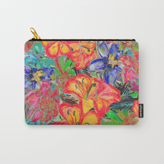 My Tropical Garden 6 Carry-All Pouch