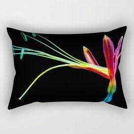 Flower bloom colorful Rectangular Pillow