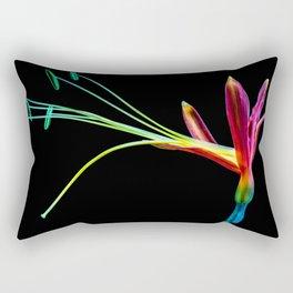 Flower bloom colorful Rectangular Pillow