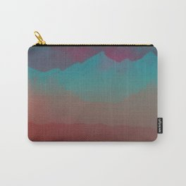 Ombre Mountainscape (Sunset Colors) Carry-All Pouch