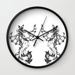 Sea-dragon Female  Wall Clock
