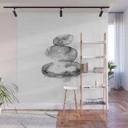 Meditation Stones No. 5E by Kathy Morton Stanion Wall Mural