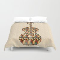 charlie brown Duvet Covers featuring Charlie by Halamo Designs