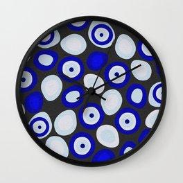 Nazar Evil Eyes Wall Clock