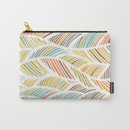 artistic waved lines Carry-All Pouch