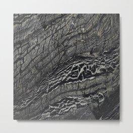 Alaska Marble Metal Print