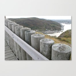 NEAR THE WATCHTOWER Canvas Print