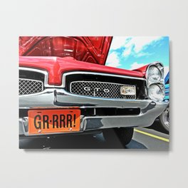 GTO Lines Metal Print