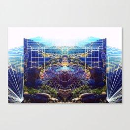 Interwoven Altitudes Canvas Print
