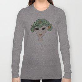 A face Long Sleeve T-shirt