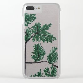 TP Trees Clear iPhone Case