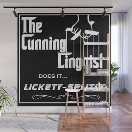 The Cunning Linguist Wall Mural